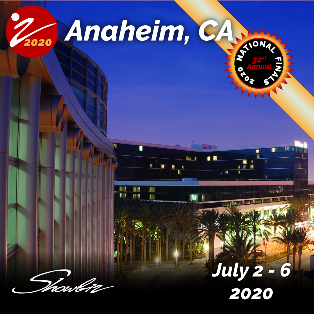 2020 Showbiz Anaheim National Finals Event